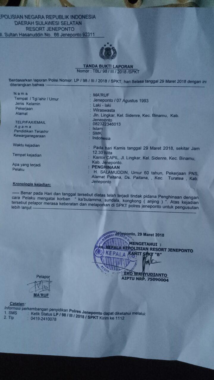 Contoh Surat Laporan Polisi Pencemaran Nama Baik Kumpulan Contoh Laporan